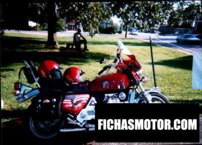 Ficha técnica Honda gl 1000 gold wing 1977