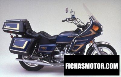 Ficha técnica Honda gl 1000 k 3 gold wing 1979