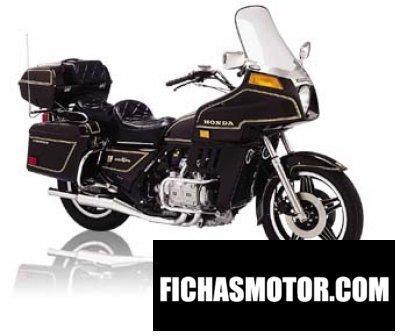 Imagen moto Honda gl 1100 gold wing año 1981