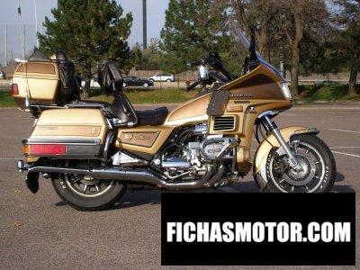 Imagen moto Honda gl 1200 dx gold wing año 1985