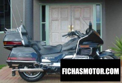 Imagen moto Honda gl 1500-6 gold wing año 1991