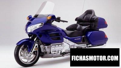 Imagen moto Honda gl 1800 gold wing año 2002