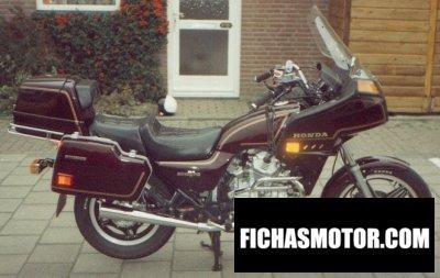Ficha técnica Honda gl 500 silver wing (reduced effect) 1982