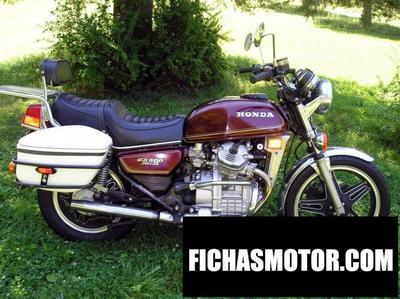 Ficha técnica Honda gl 650 (reduced effect) 1984