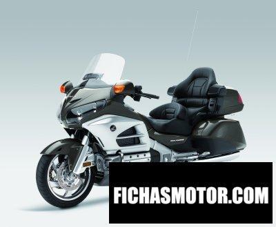 Imagen moto Honda gl1800 gold wing deluxe año 2014