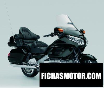 Imagen moto Honda gold wing airbag año 2008