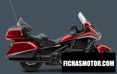Imagen moto Honda gold wing airbag año 2015