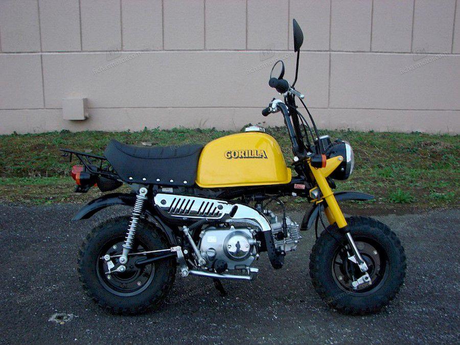Imagen moto Honda gorilla año 2006