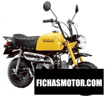 Imagen moto Honda gorilla 50 año 2002
