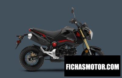 Imagen moto Honda grom 125 año 2015