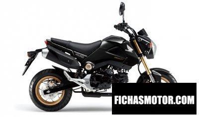 Ficha técnica Honda grom 2014