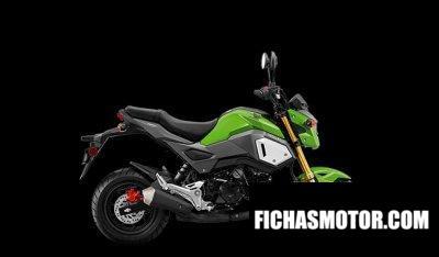 Ficha técnica Honda Grom 2020