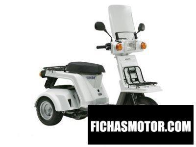 Imagen moto Honda gyro x año 2013