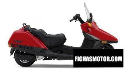 Imagen moto Honda helix año 2007
