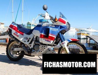 Ficha técnica Honda honda xrv 650 atrica Twin marathon 1989