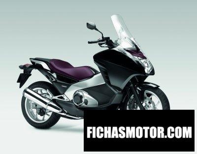 Ficha técnica Honda integra 2012