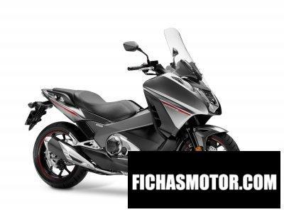 Imagen moto Honda integra año 2016