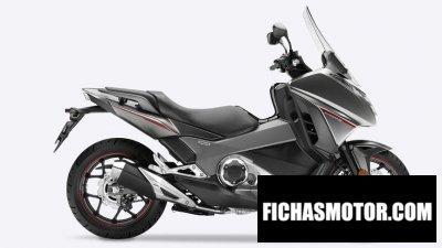 Imagen moto Honda integra año 2017