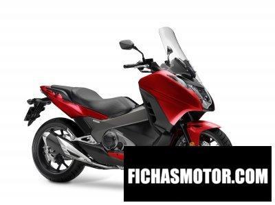 Imagen moto Honda integra año 2018