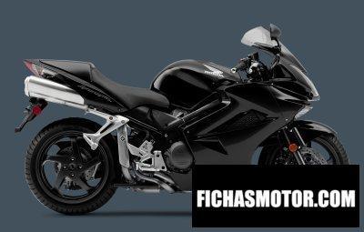 Imagen moto Honda interceptor año 2011