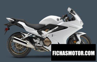 Imagen moto Honda interceptor año 2015