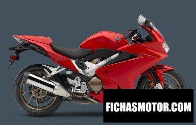 Ficha técnica Honda interceptor dlx 2015