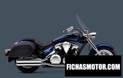 Motorcycle image Honda interstate year 2010