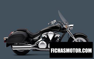 Imagen moto Honda interstate año 2012