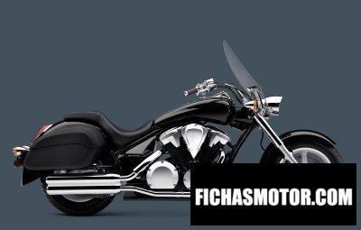 Imagen moto Honda interstate año 2016