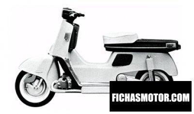Imagen moto Honda juno c130 año 1963