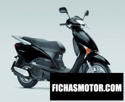 Imagen moto Honda lead 110 año 2012
