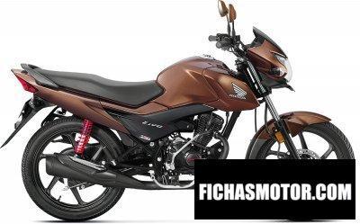 Ficha técnica Honda livo 110 2017