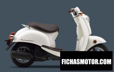 Imagen moto Honda metropolitan año 2009