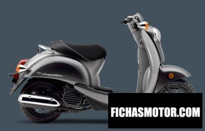 Imagen moto Honda metropolitan año 2010