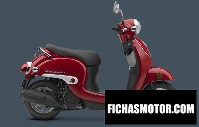 Ficha técnica Honda metropolitan 2016