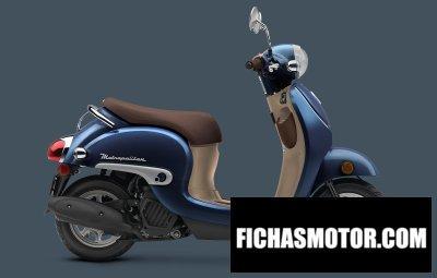 Imagen moto Honda metropolitan año 2018