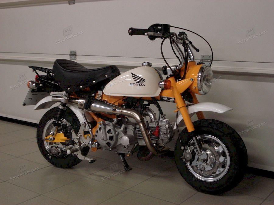Imagen moto Honda monkey año 2006
