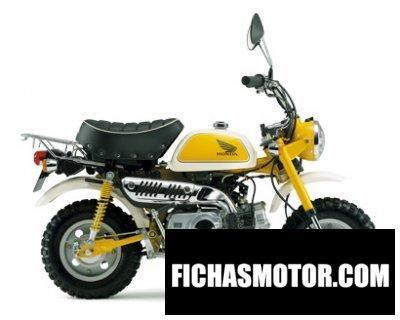 Imagen moto Honda monkey año 2013
