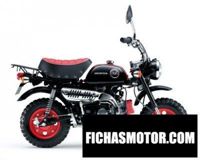 Imagen moto Honda monkey año 2015