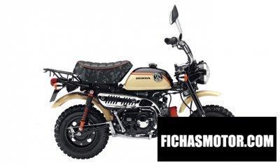 Imagen moto Honda monkey año 2017