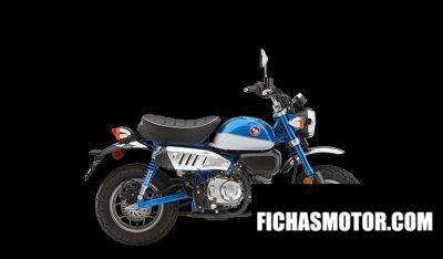 Ficha técnica Honda Monkey 2020