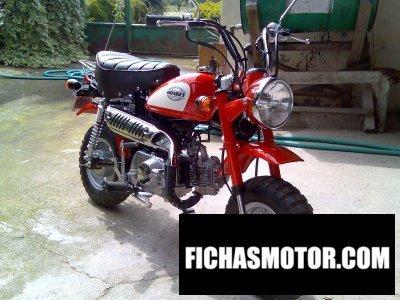 Imagen moto Honda monkey 50 año 2002