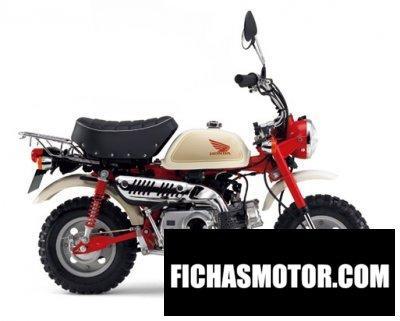 Imagen moto Honda monkey 50 año 2011