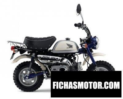 Ficha técnica Honda monkey 50 concept 2016