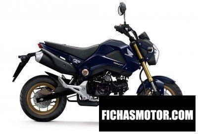 Ficha técnica Honda msx 125 2014