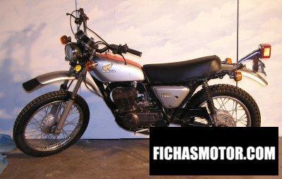Imagen moto Honda mt 250 elsinore año 1973