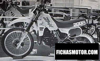 Imagen moto Honda mtx 200 r año 1985