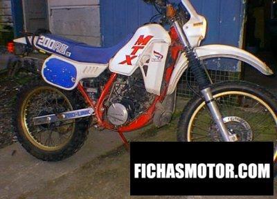 Imagen moto Honda mtx 200 r año 1987