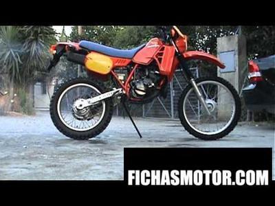 Imagen moto Honda mtx 200 rw año 1984