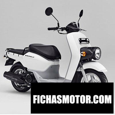 Imagen moto Honda MW110 año 2020